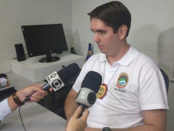 Delegado João Eduardo Davanço detalhou depoimento. (Foto: Richelieu de Carlo)