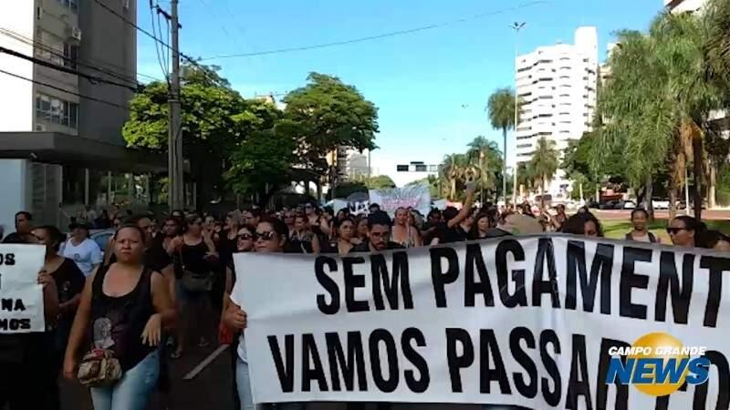 No 3º dia, protesto complica trânsito na Afonso Pena