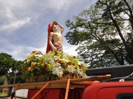 Com carreata e benção dos carros, Festa de São Sebastião começa hoje