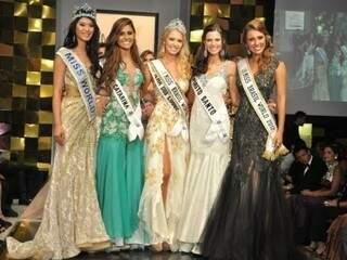 Este ano a Miss Brasil World é Sancler Frantz, de 21 anos.