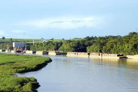 Transporte de cargas ficou 32% mais caro com interrupção de hidrovia