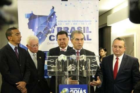 Governadores criam fórum e Reinaldo prevê mais poder em decisões federais
