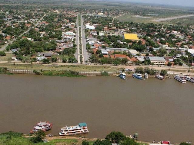 Porto Murtinho, em MS, ganhará ligação rodoviária com o Paraguai por meio de ponte. (Foto: Toninho Ruiz/Arquivo)