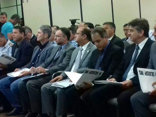 Secretários voltarão a se encontrar em março para avaliar compartilhamento (Foto: Rafael Ribeiro)
