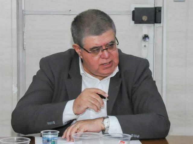 Marun em reunião durante visita a Capital. (Foto: Paulo Francis)
