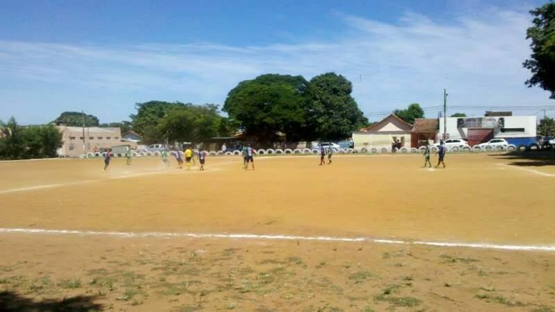 O Campeonato Terrinha, no bairro Santo Amaro, está na 17ª edição (Foto: Divulgação)