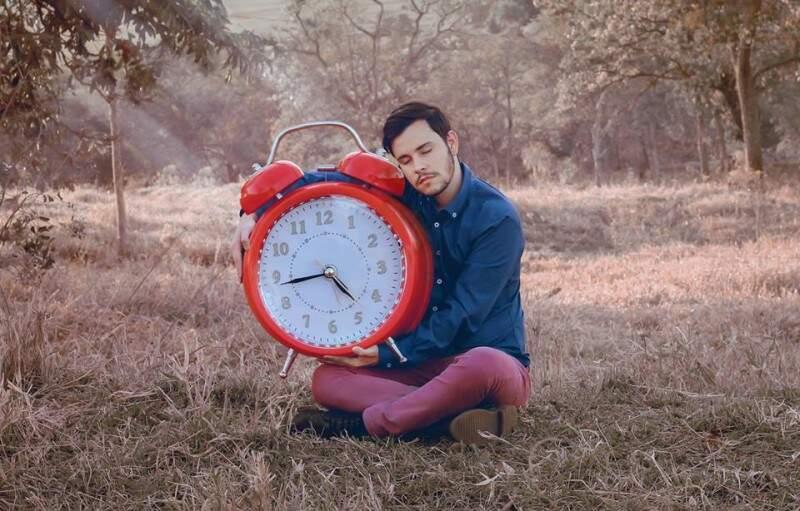 Em ligação com o tempo (Foto: Matheus Ribeiro)