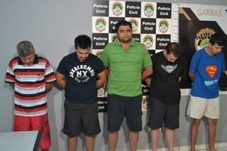 Quadrilha responderá por ao menos cinco crimes. Foto: Graziela Rezende