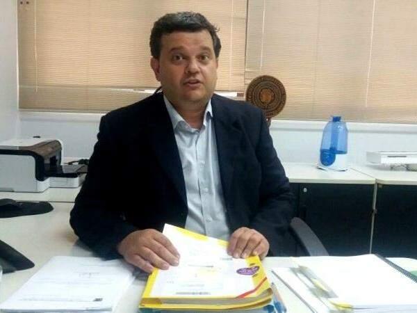 Eduardo José Rizkallah, 19ª promotoria de Justiça de Campo Grande. (Foto: Luana Rodrigues)