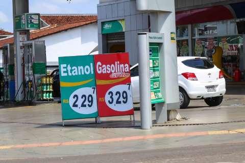 Preço do etanol sobe 9% e perde vantagem em relação a gasolina