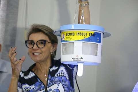 Teste com máquina que suga fêmea de mosquito começa amanhã