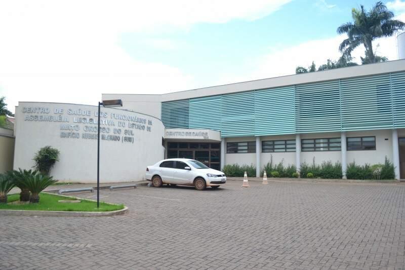O Centro de Saúde não fechará apenas será administrado pela Caixa (Foto - Fernando Antunes)