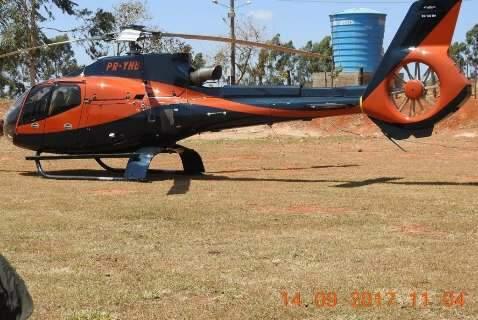 Alvos da PF, chefões do tráfico têm 7 helicópteros e perdem R$ 61 milhões