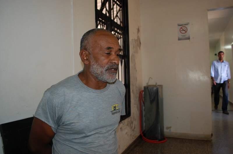 Ângelo está preso desde quarta-feira. (Foto: Graziela Rezende)