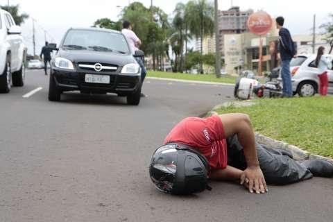 Só neste mês, cruzamento na Afonso Pena é palco de cinco acidentes