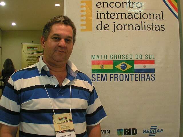 O jornalista era editor chefe do Jornal Da Praça e diretor do Site Mercosul News. (Foto: Lile Correa)