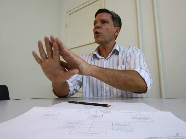 Rodrigo Terra, à frente da Funesp, diz que meta é envolver a comunidade na rotina dos parques (Foto: André Bittar)