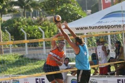 Estadual de vôlei de praia define neste domingo representantes de MS