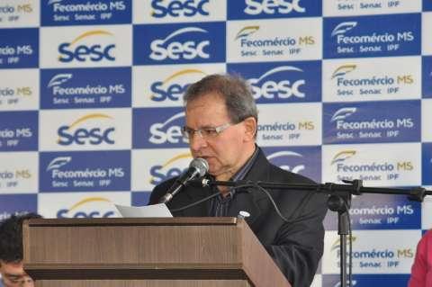 Reinaldo e Olarte citam parceria com o Sesc na inaguração de nova unidade