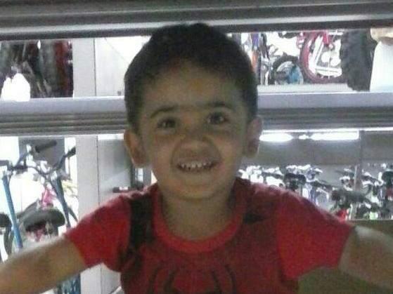 Vinícius Rouldino, 4 anos, morreu dentro da ambulância (Foto: reprodução/Facebook)