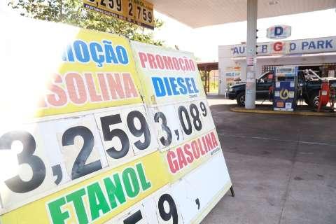 Gasolina e etanol ficam até 3% mais caros a partir de hoje em MS