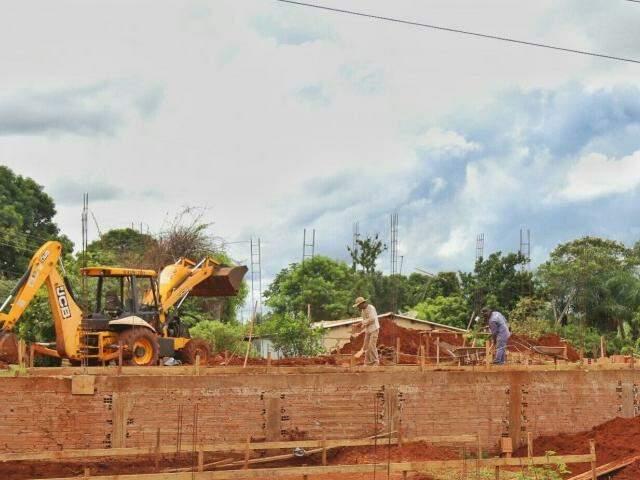 Desconto do ISS será de 5% em construções de Campo Grande. (Foto: Arquivo)