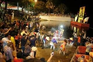 No dia 23 haverá o tradicional banho de São João no Rio Paraguai. (Foto: Divulgação)
