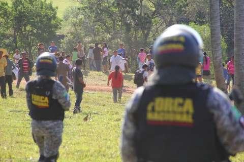 Clima volta a ficar tenso entre índios e fazendeiros e Força Nacional intervém