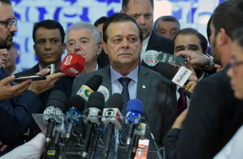 Jovair Arantes lançou oficialmente sua candidatura nesta terça-feira (10). (Foto: Leonardo Prado/Câmara dos Deputados)
