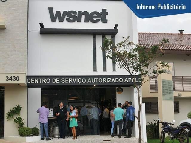 A WS Net fica na Antônio Maria Coelho, 3426 - Foto: Alcides Neto