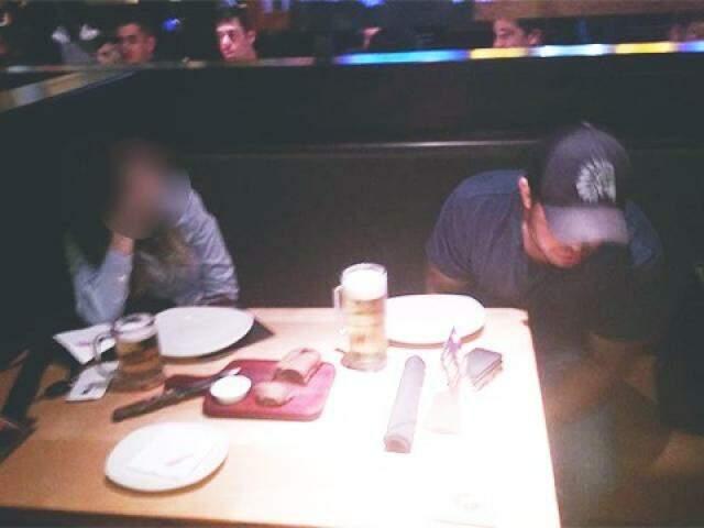 Autora da foto controversa garante ter visto acusado bebendo álcool na última quinta-feira (Foto: Direto das Ruas)