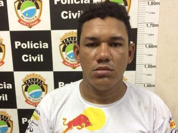 Renato foi preso na tarde de ontem no Guanandi (Foto: Divulgação)