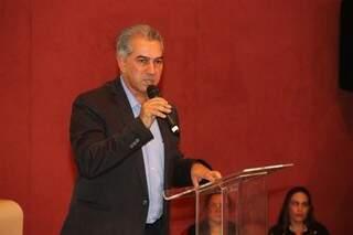 Reinaldo disse que canal de diálogo está aberto com os policiais civis (Foto: Fernando Antunes)