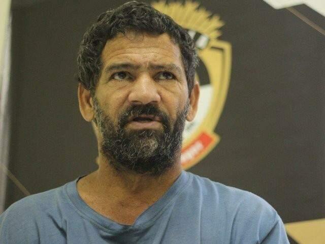 Luiz Alves Martins Filho, o Nando, no dia em que foi preso. (Foto: Arquivo)