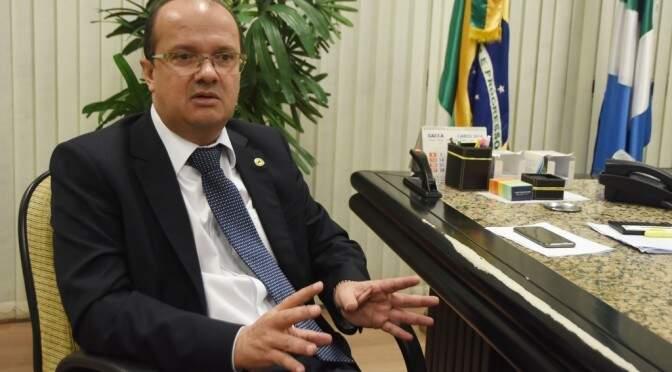 Secretário quer traçar metas de combate a crimes como tráfico de drogas e armas(Foto: Divulgação/Sejusp)