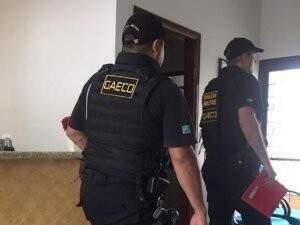 Materiais apreendidos na Operação Xadrez já começam a chegar na sede do MPE em Corumbá. (Foto: Capital do Pantanal)