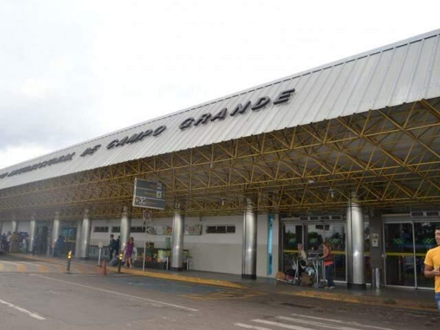 Aeroporto apresenta mesma estrutura desde que foi construído (Foto: Anny Malagolini / arquivo)