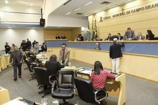 Se aprovada por vereadores, nova Processante tratará de improbidade do prefeito em remanejamentos (Foto: Cleber Gellio / Arquivo)