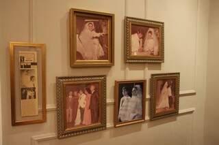 O que Rosana viveu foi cada segundo da festa de casamento em 1975. As imagens dos 900 convidados.