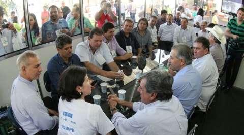 Governador garante apoio e parceria com os municípios da região de Três Lagoas
