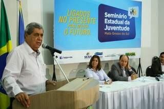André destacou a liberdade dos jovens para discutir os temas do país, diferente do passado (Foto: Marcos Ermínio)