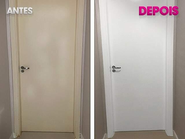 Ele pode ser usado em áreas úmidas, paredes, vidros, madeira e portas. (Foto: Divulgação)