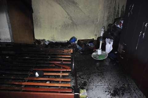 Bituca de cigarro provoca segundo incêndio em menos de 24h na Capital