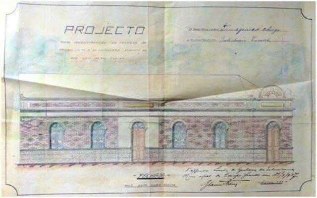 """Traços da nossa arquitetura, desde o """"Gabinete Téchnico de Desenho"""" na Calógeras"""