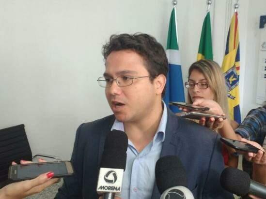 Secretário de Finanças, Pedro Pedrossian Neto. (Foto: Richelieu de Carlo)