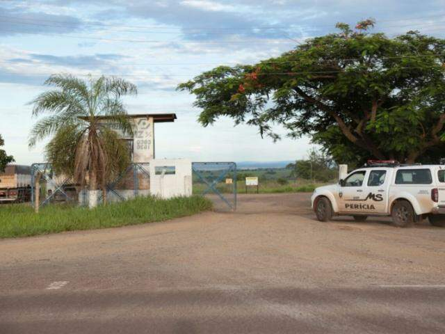 Exército apreendeu explosivos que continuam no local (Foto: Arquivo/Fernando Antunes)
