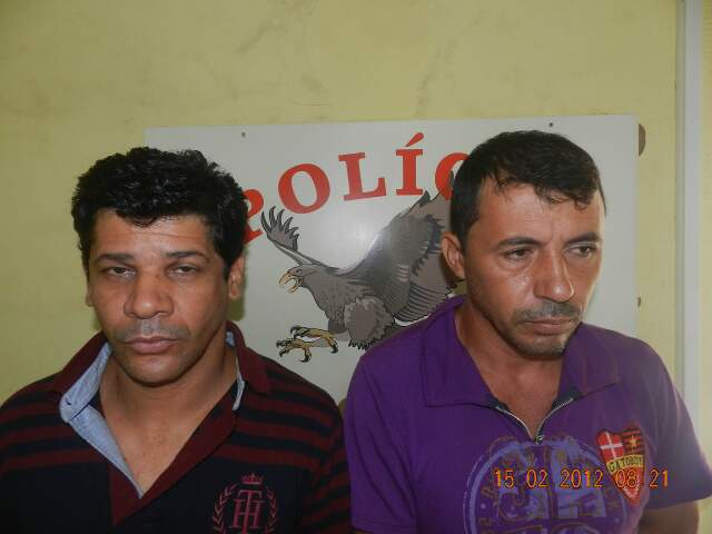 Suspeitos presos pela Denar (Foto: Divulgação)