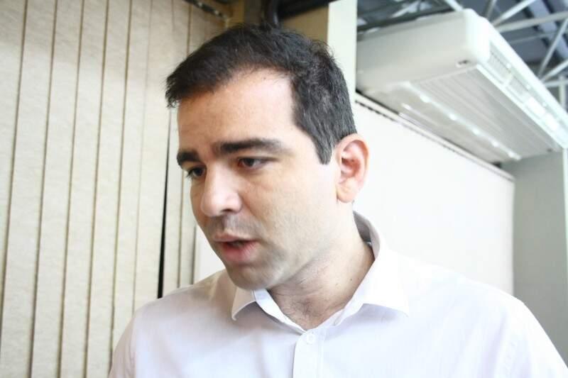 Eduardo Otoni do Hospital Nossa Senhora Auxiliadora de Três Lagoas (Foto: Marcos Ermínio)