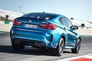 BMW lança no Brasil o novo X6M com 575 cv de potência