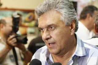 Deputado por Goiás foi lançado para concorrer à sucessão presidencial e desferiu duros ataques ao PT (Foto: Cleber Géllio)